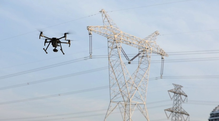 Drone in power & utility sector