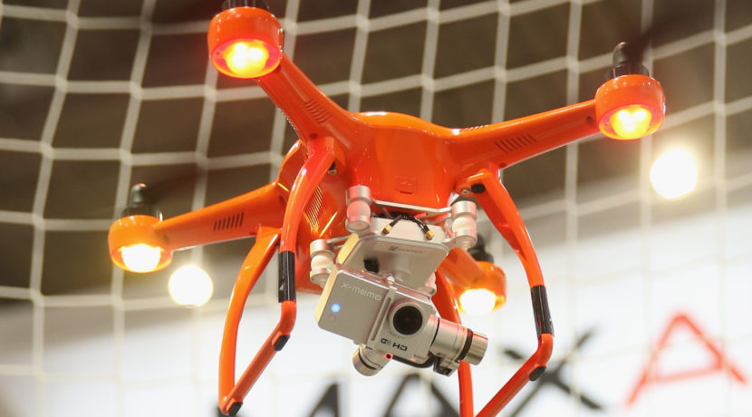 Drones are revolutionizing the media industry