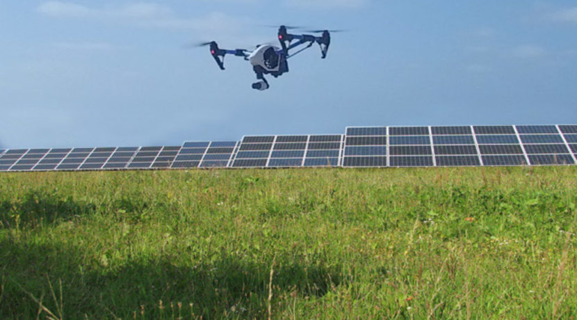 Drones are revolutionizing the solar industry globally