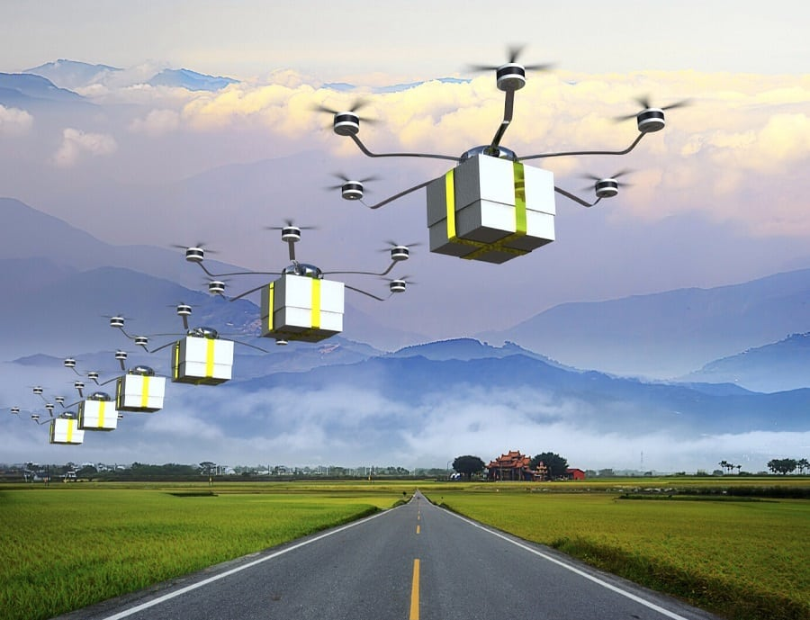 How drones can impact the future of delivery services